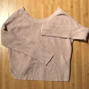 Light pink garage sweater (worn twice)